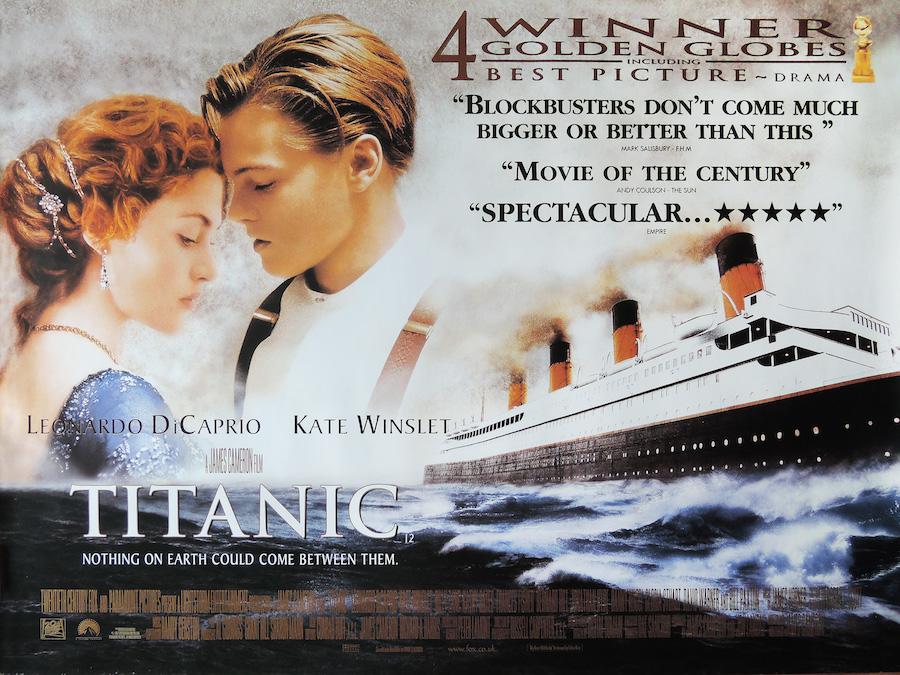 titanic film poster james cameron