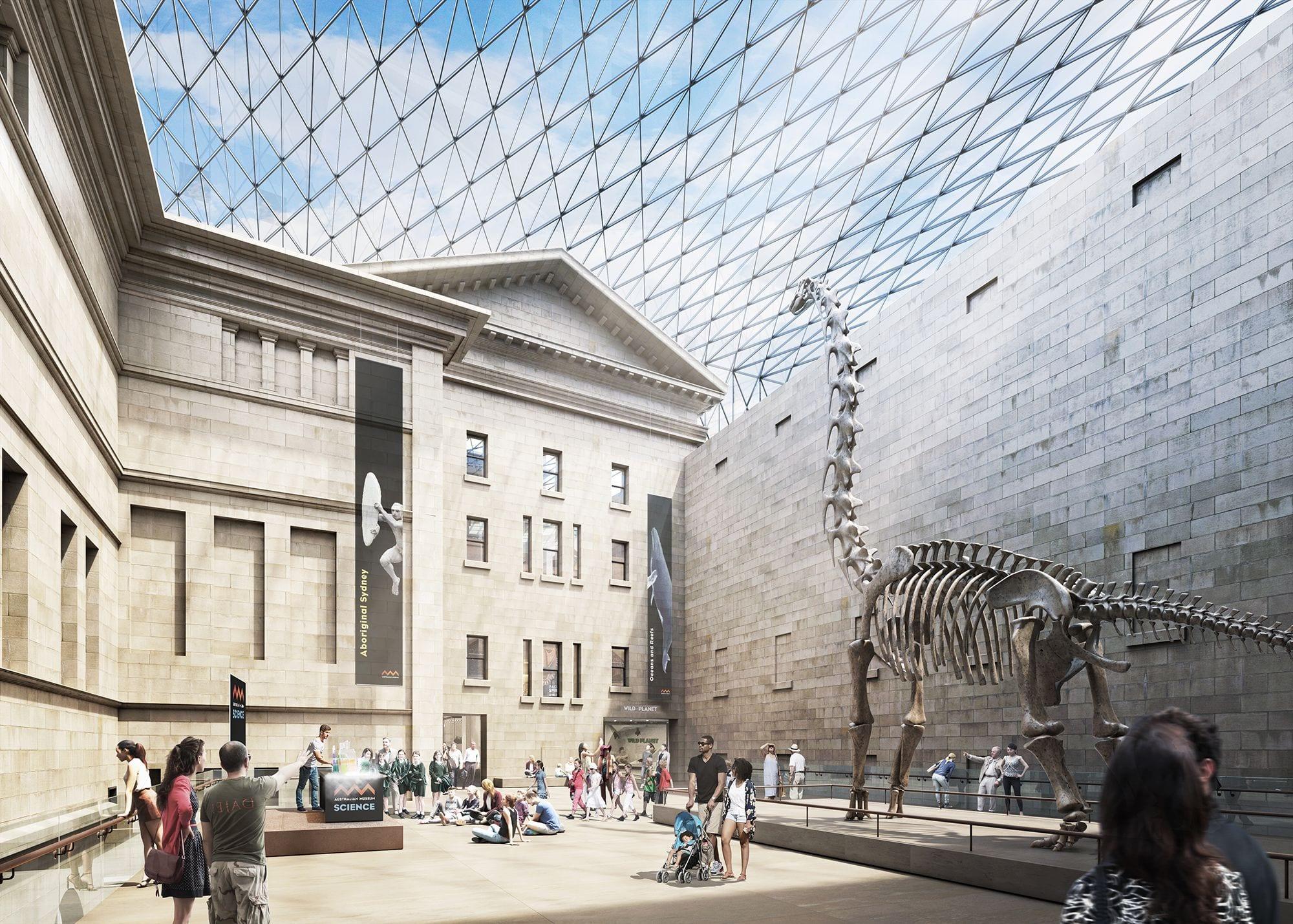 Australian Museum Grand Hall