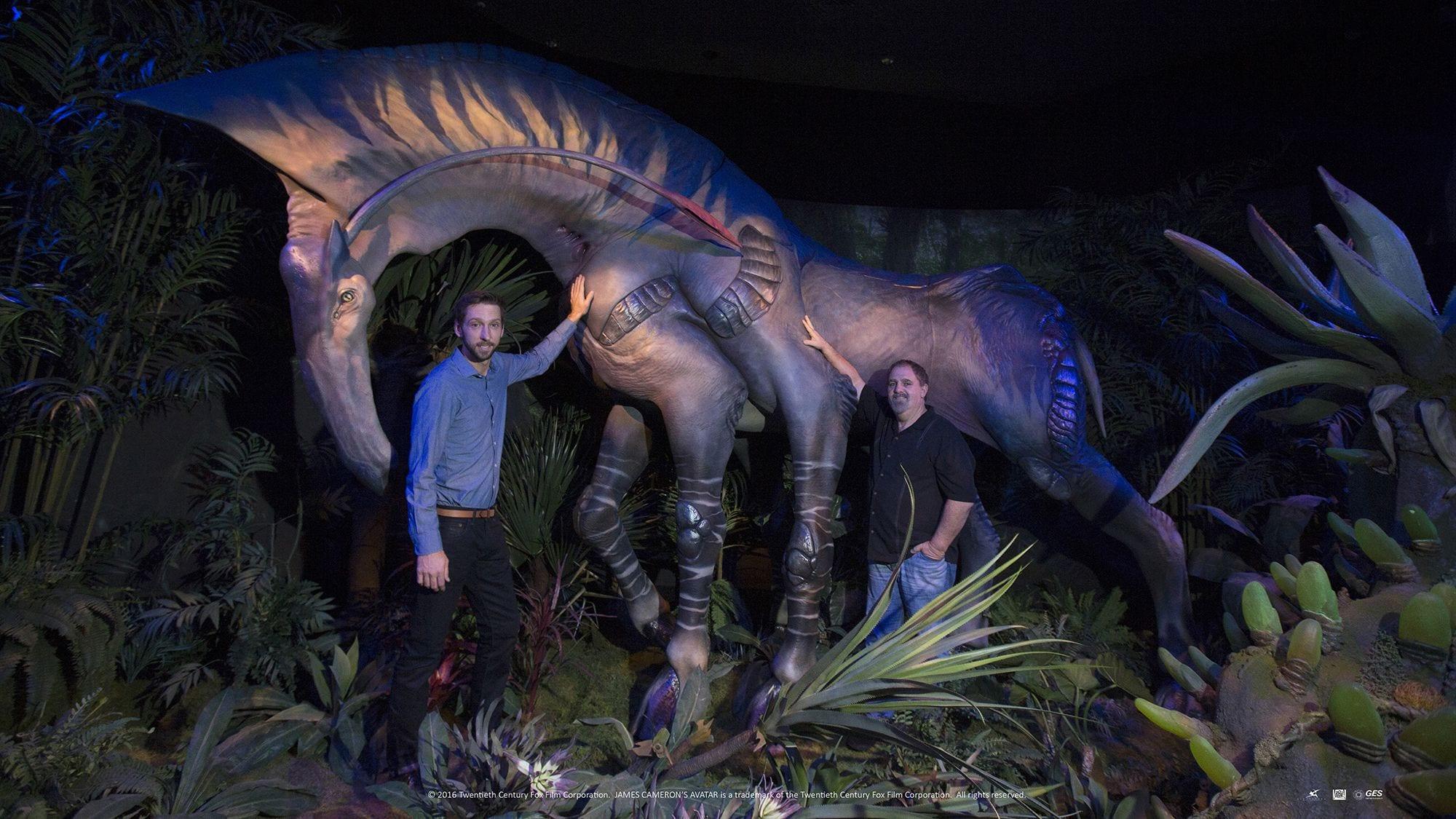 Avatar Discover Pandora Exhibtion