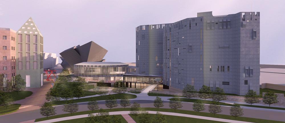 Denver Art Museum Gio Ponti designed North Building