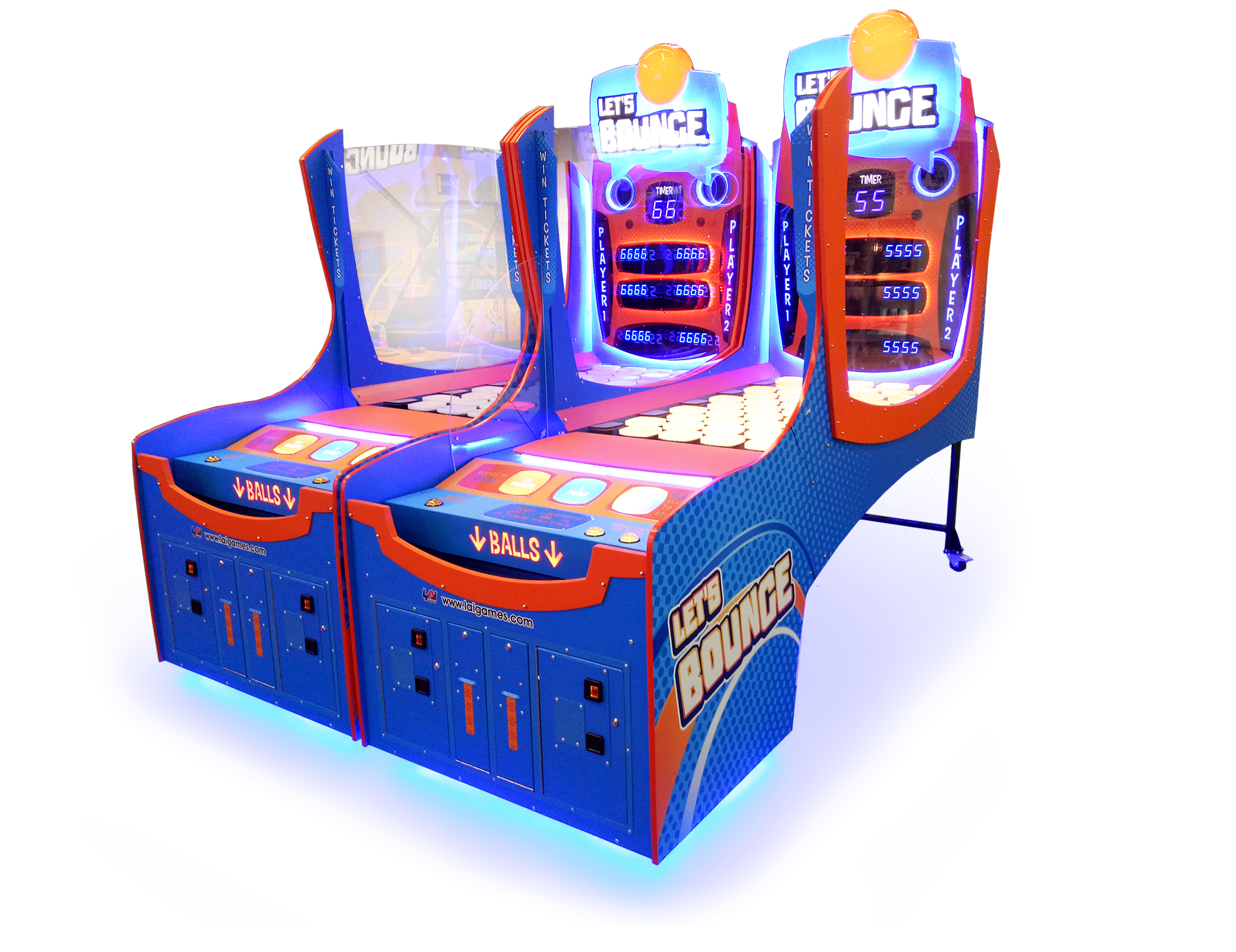 LAI Games to Showcase IAAPA Crowd Pleasers HYPERshoot and Let's Bounce at Betson Texas Open House