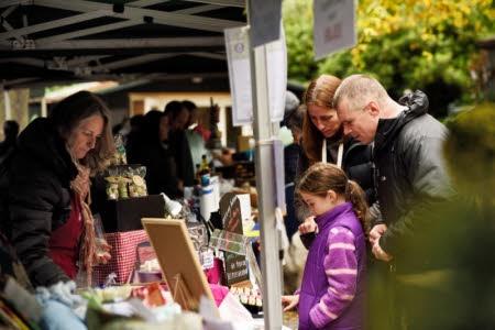 Weekend Market at Gibside National Trust