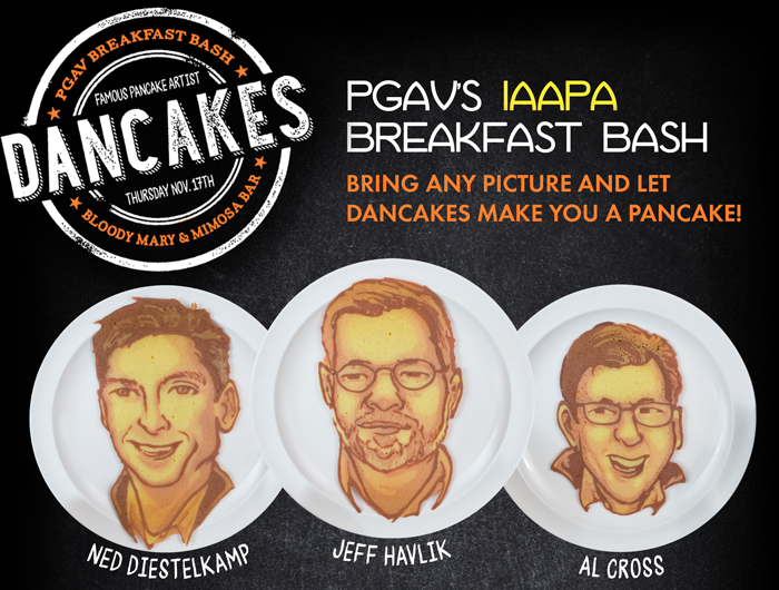 pgav iaapaa breakfast bash invitation