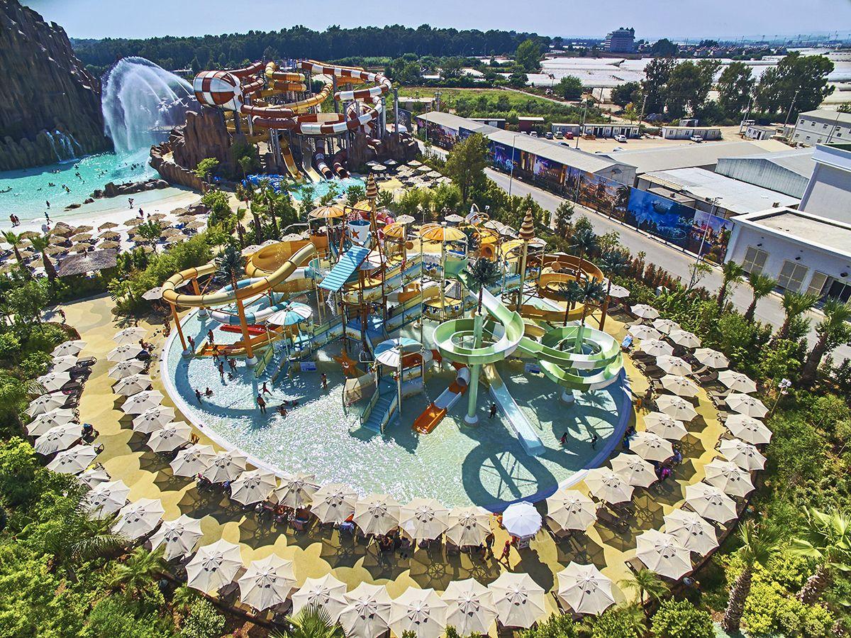 land of legends turkey polin waterparks