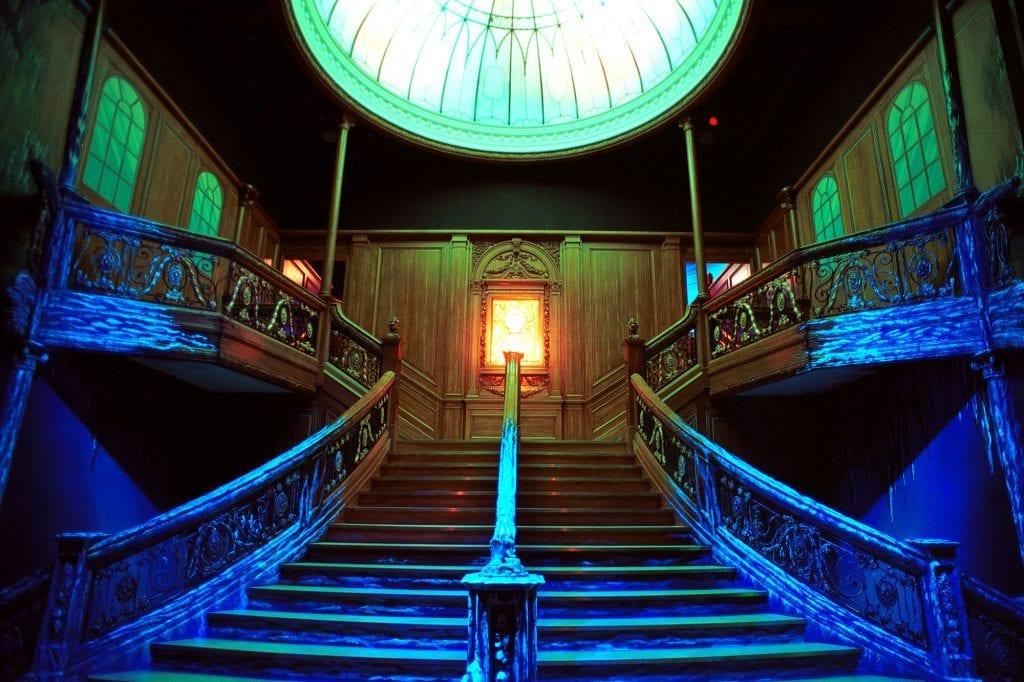 technifex titanic stairway