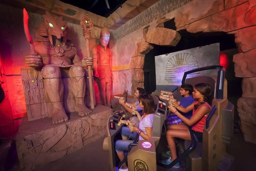 challenge tutankhamon sally corp dark rides