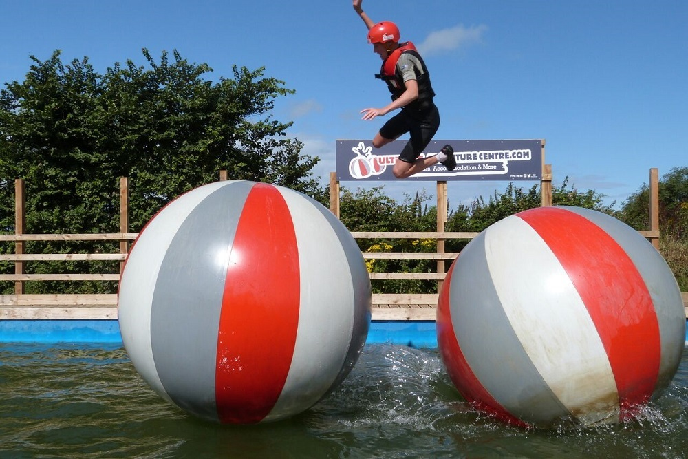Wipeout Ultimate Adventure Course Big Sheep Devon