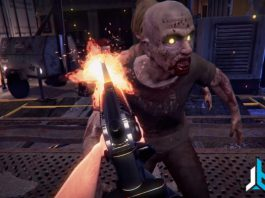 Zero Latency Zombie VR game