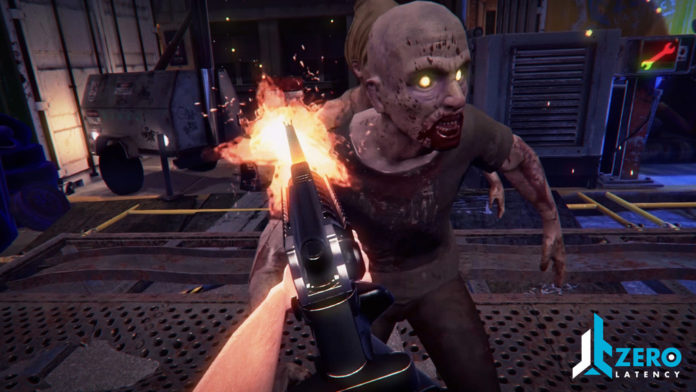 Zero Latency Zombie VR game
