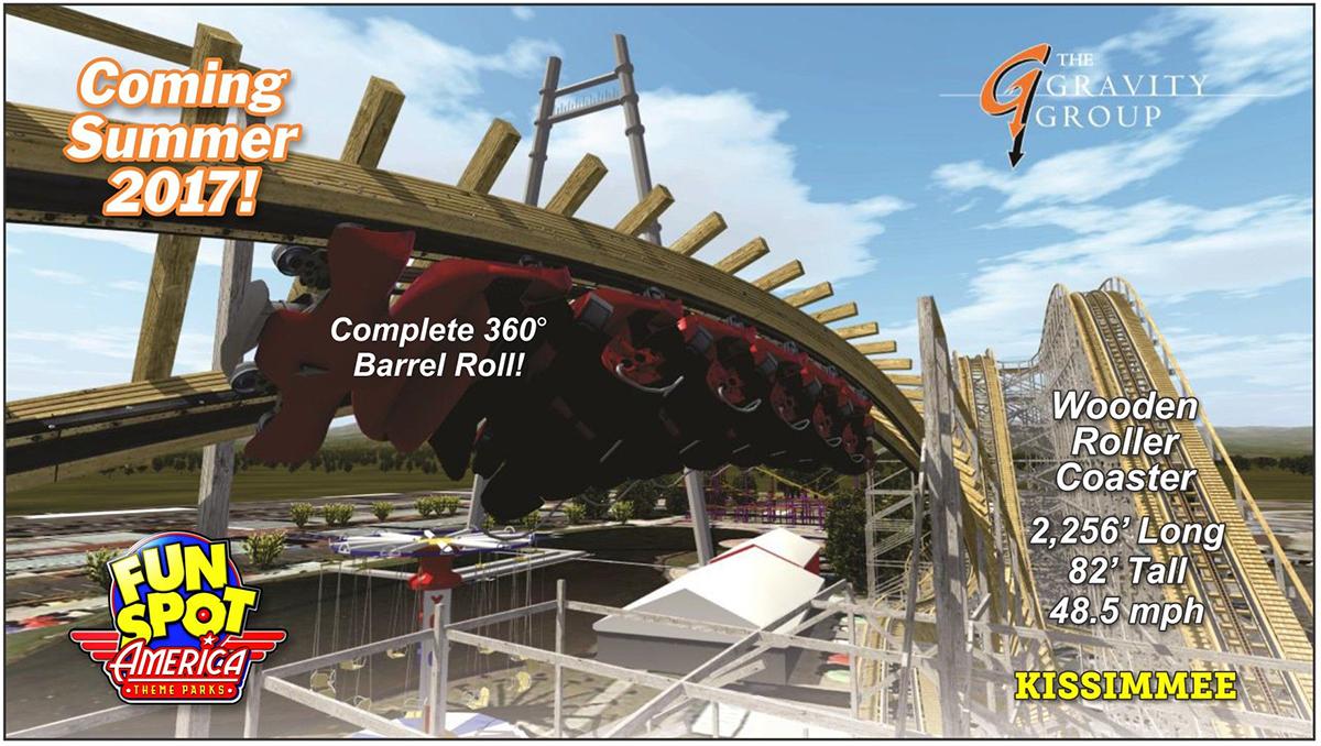 fun spot america wooden coaster