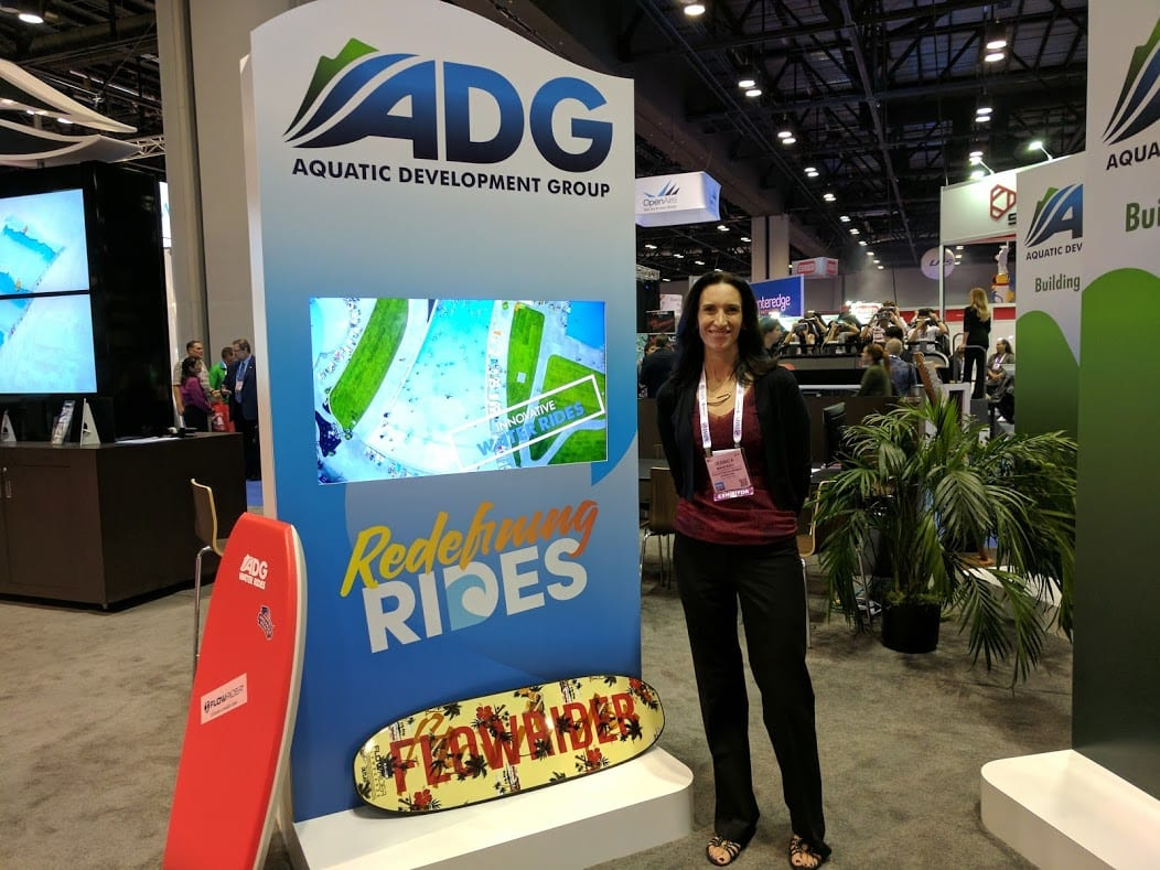 jessica mahoney of ADG at iaapa 2016