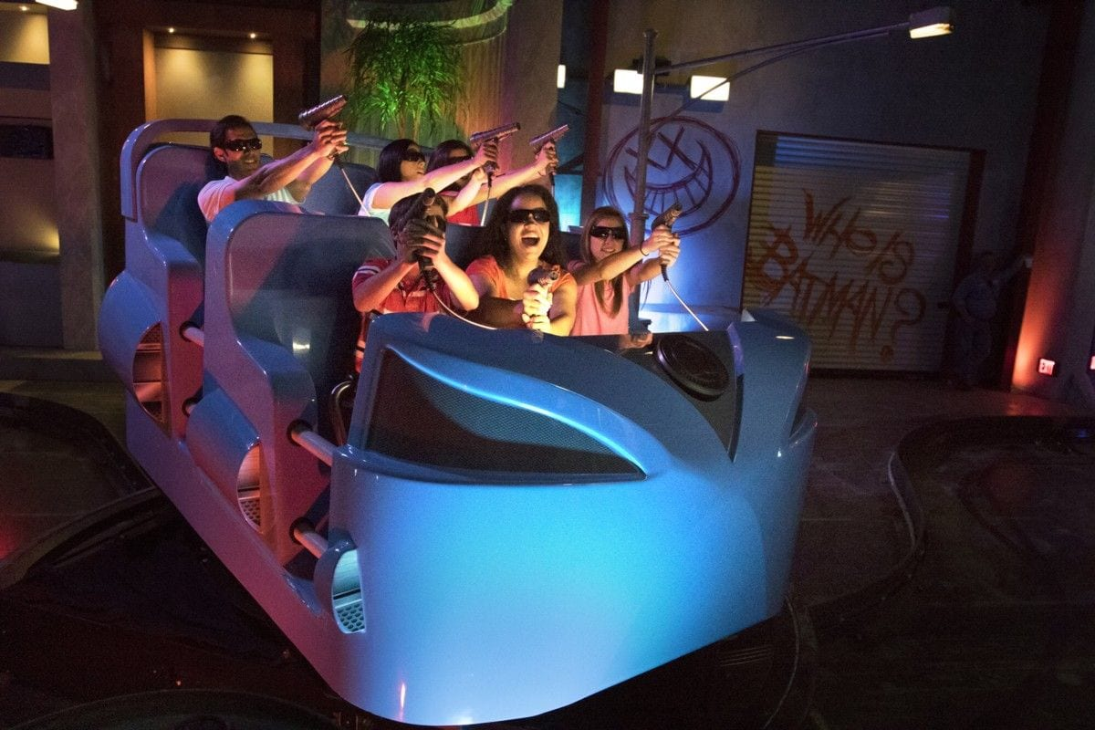 justice league battle for metropolis sally corp dark rides