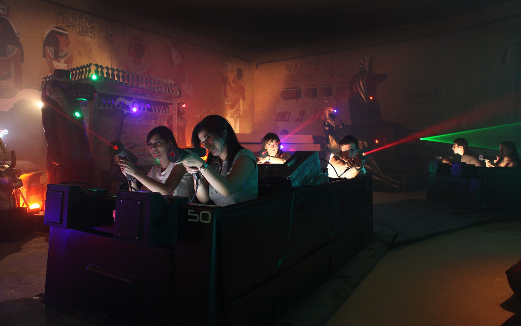 Lagotronics Projects' Ghost Hunt Dark Ride Upgrade Marks First US Project