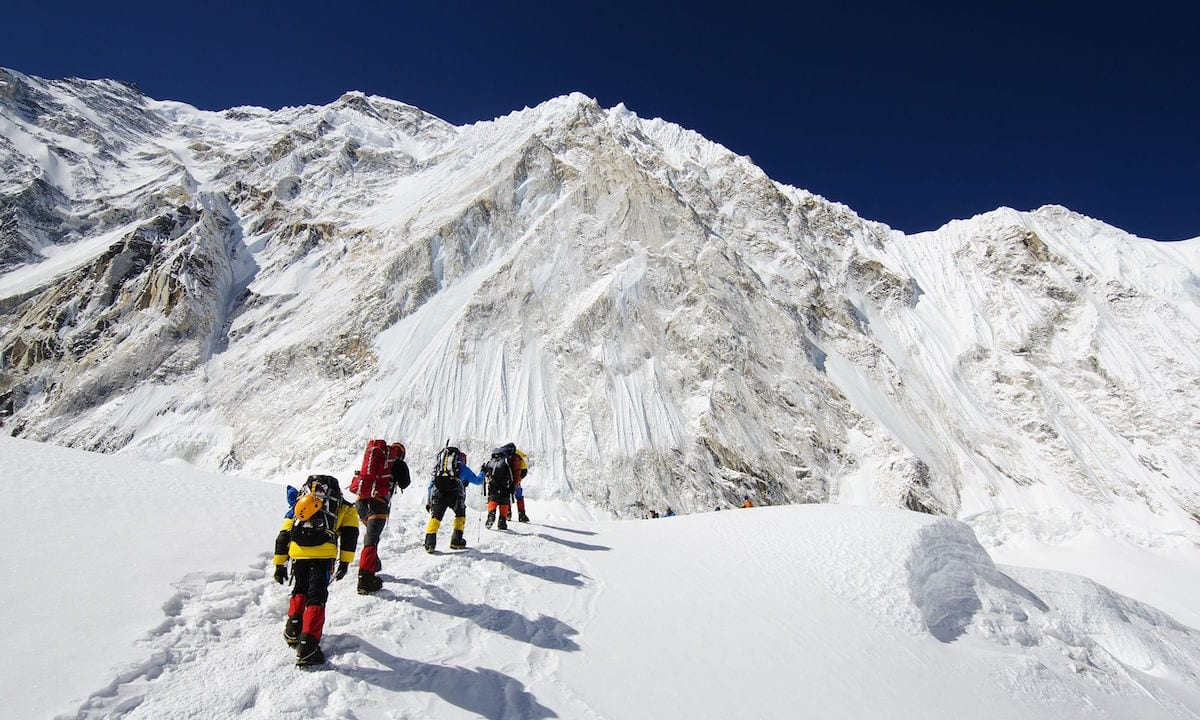 mountaineering museum for everest snow
