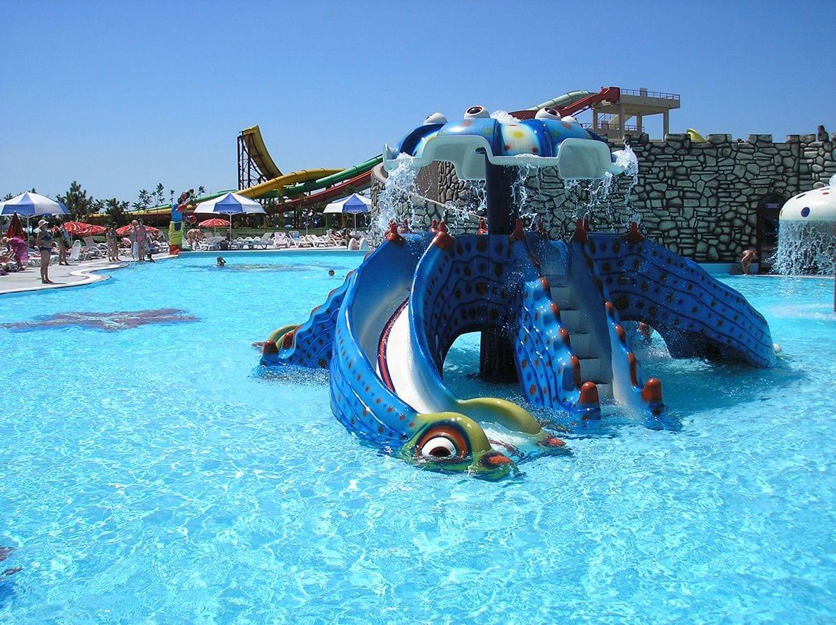 octopus slide polin waterparks