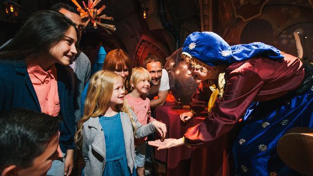 shreks adventure london fortune teller