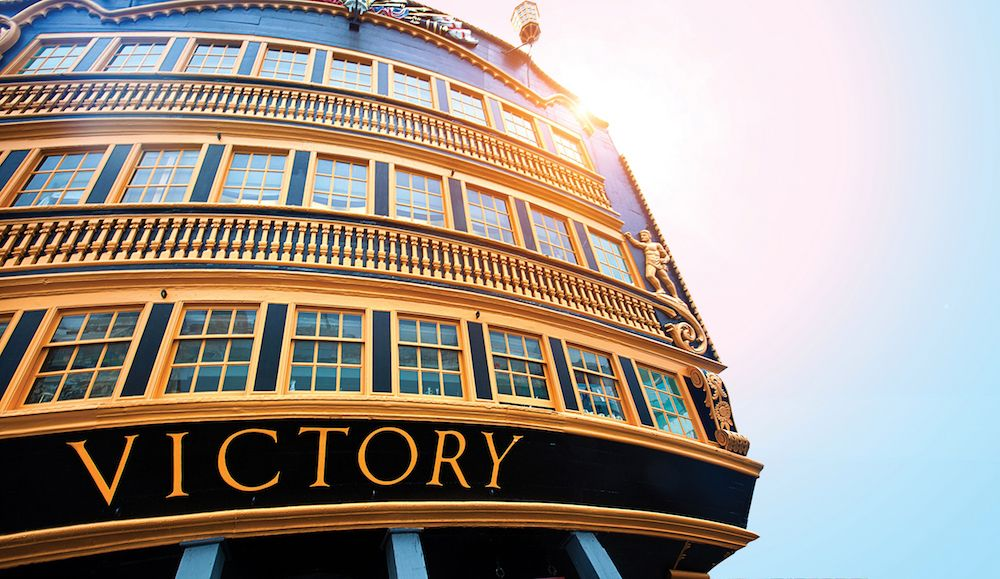 flagship victory portsmouth dock