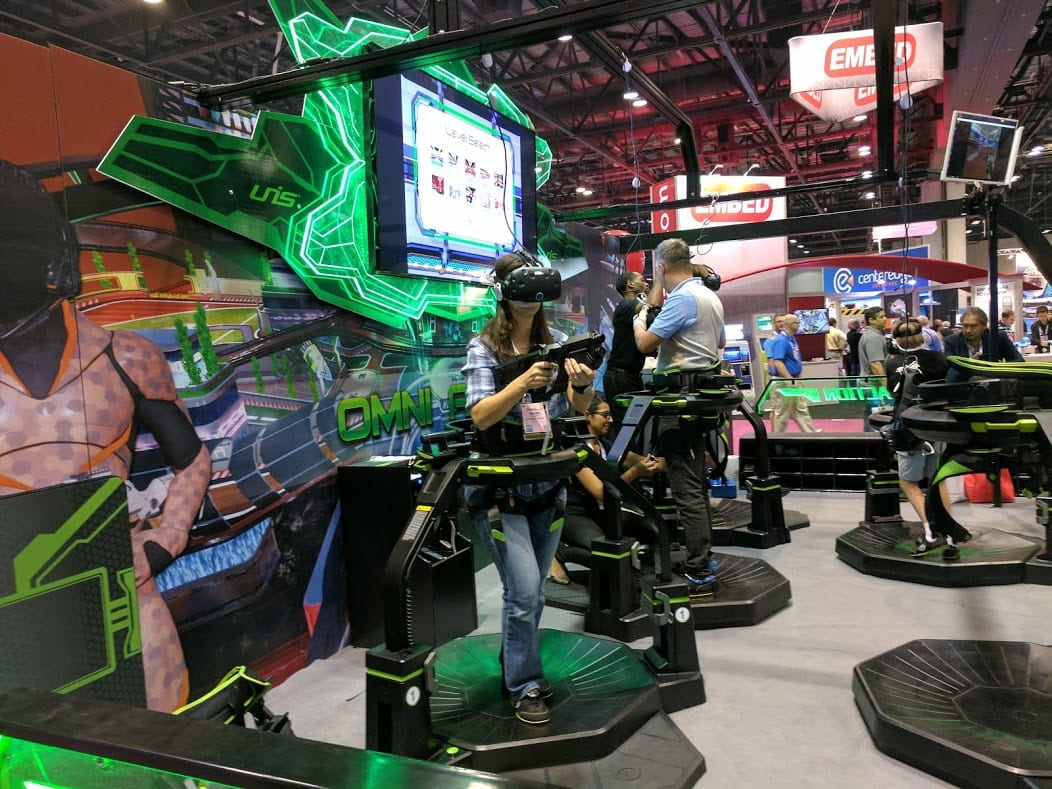 VT activity at iaapa expo 2016