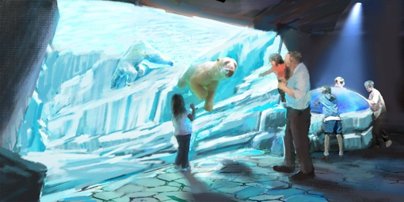 PGAV Destinations to Design New Polar Bear Habitat at