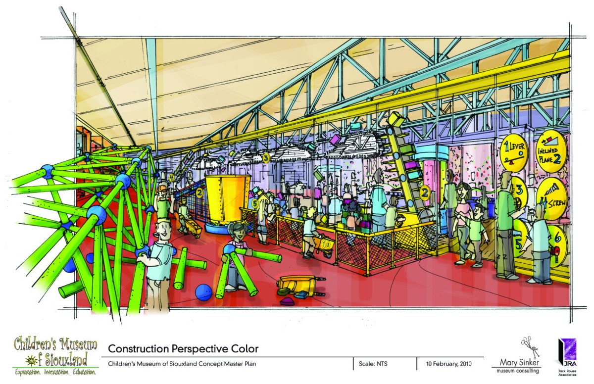 JRA to Design New Children's Museum of Siouxland Exhibit Space