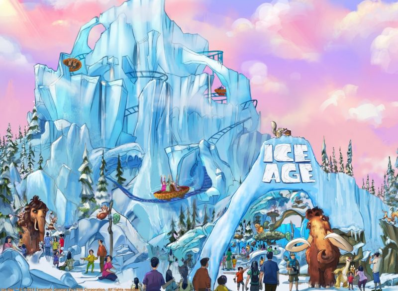 genting theme park fox ice age