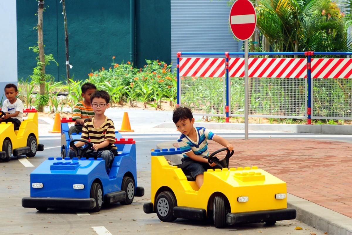 Legoland Japan dirving school