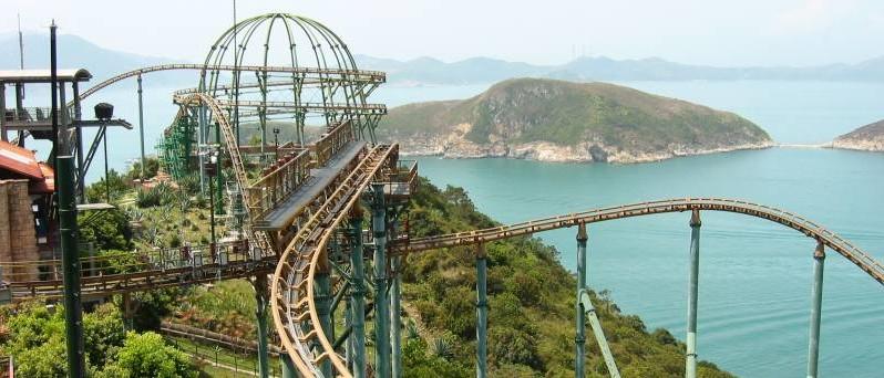 ocean park mine train