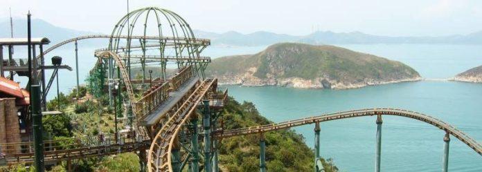 ocean park hong kong mine train vr coaster