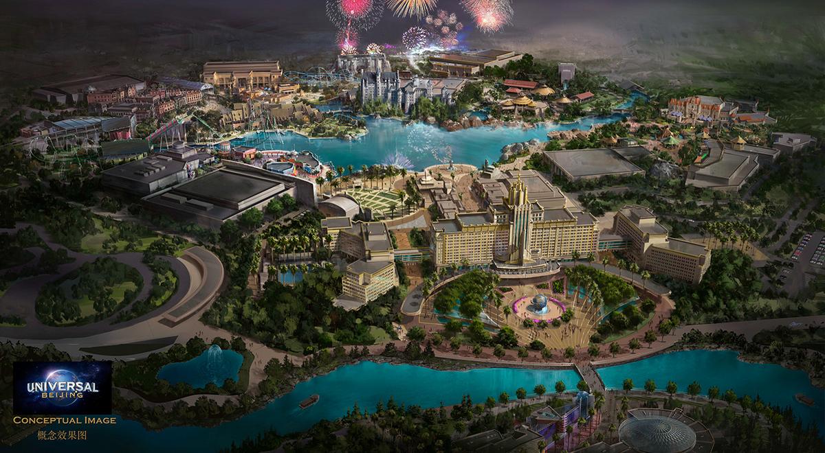 Universal Studios Beijing Universal parks and resorts