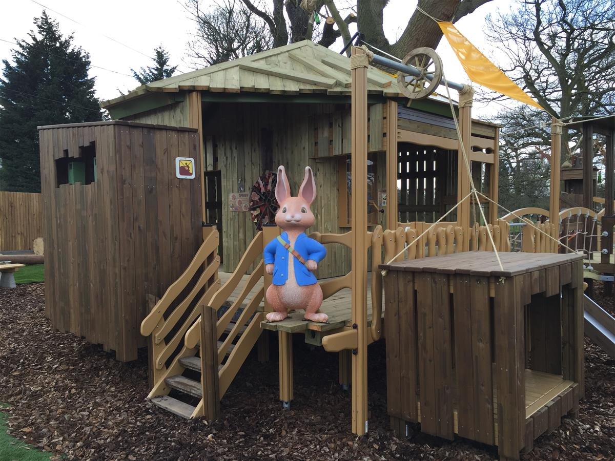 Lappset Creates Peter Rabbit Adventure Playground At