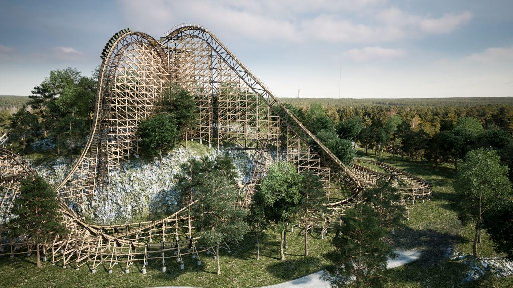 Wildfire Europes Fastest Wooden Mega Coaster Opens At Kolmården