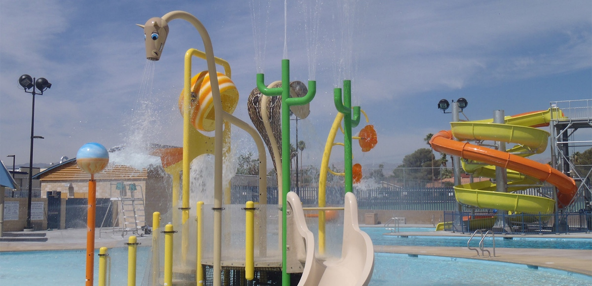 Waterplay aquatic playground