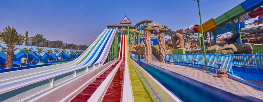 Polin's Iconic King Cobra Waterslide Debuts in India at Amaazia Waterpark