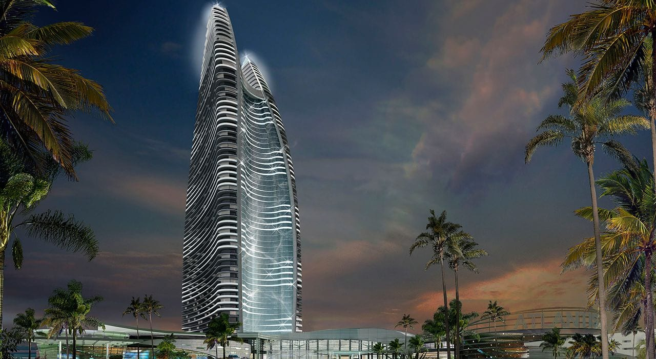atlantis sanya china kerzner international tower Blooloop