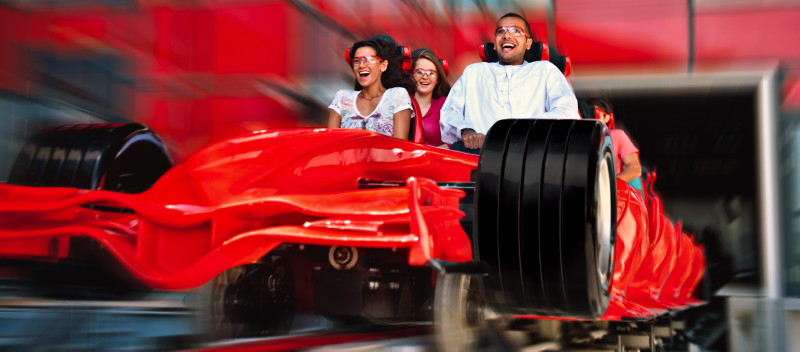 ferrari world abu dhabi jra