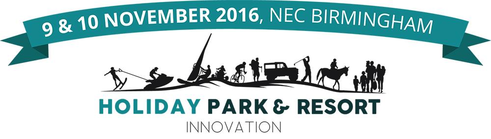 Holiday Park and Resort Innovation Logo