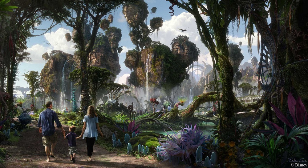Pandora The World of AVATAR Concept Art Disney
