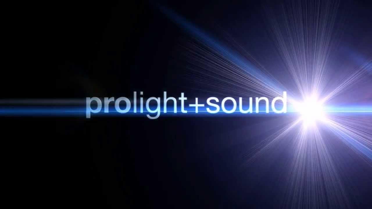 Prolight and Sound Logo