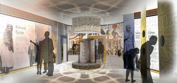Rotunda bolton museum leach studio egypt
