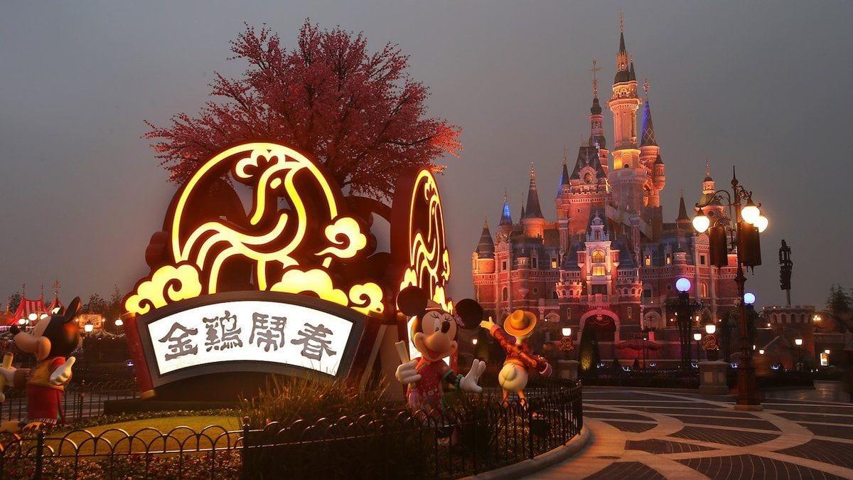 Shanghai Disney Resort Celebrates Lunar Chinese New Year