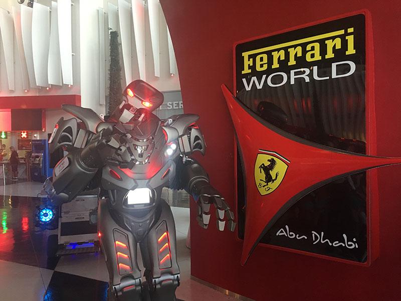 TITAN the Robot-ferrari-world blooloop