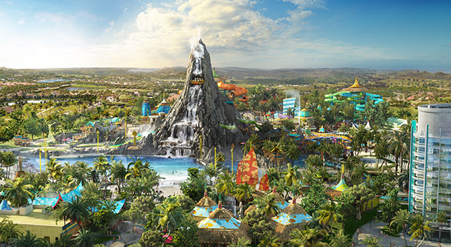 Volcano Bay Concept Art Universal Resort