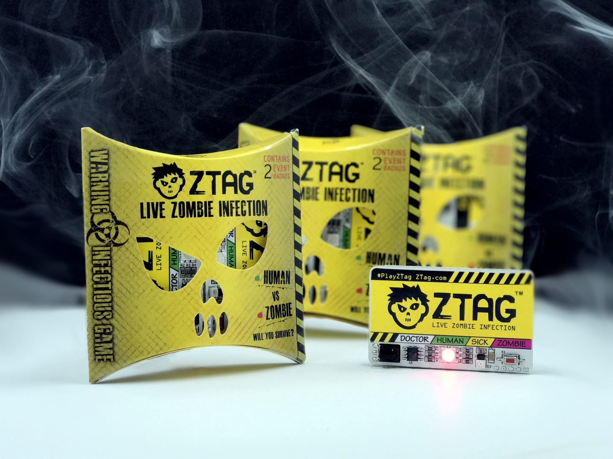 Gantom Live! to showcase out of the box ztag zombie game at HAuNTcon and Halloween Party & Expo