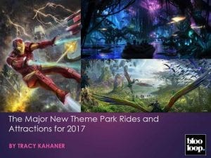 The Major new Theme Park Rides and Attractions...