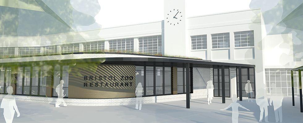 bristol zoo restaurant rendering Blooloop