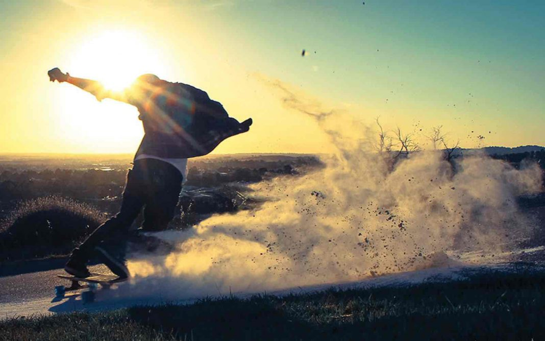 extreme sports company skateboarder