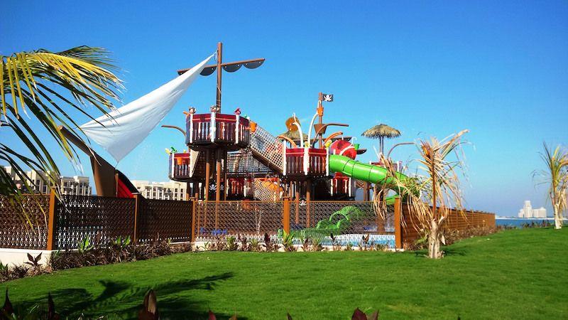aquatic play vortex DoubleTree by Hilton Resort & Spa Marjan Island