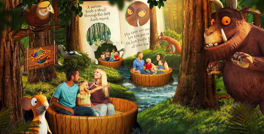 gruffalo boat ride chessington worlds of adventure merlin Blooloop