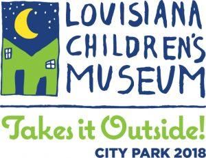 louisiana children's museum take it outside logo Blooloop