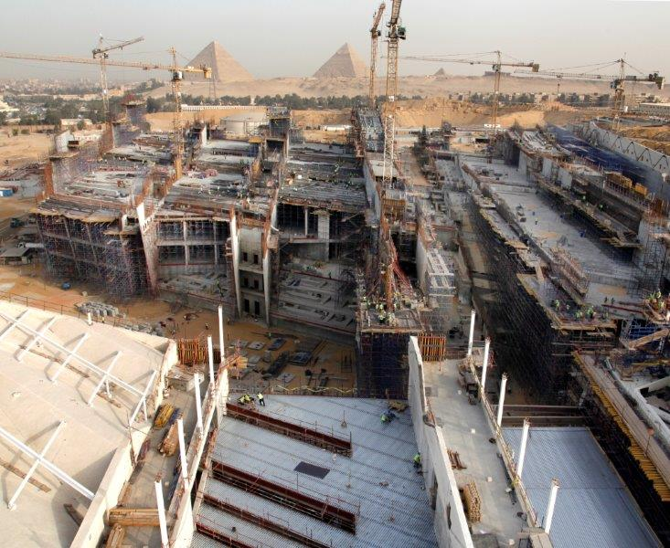 ministry of antiquities grand egyptian museum